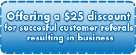 Plumbing Coupon $25Off with successful referral
